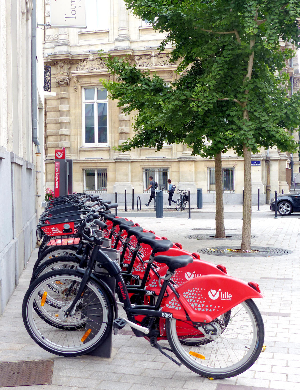 Tourcoing Mairie - Station V'Lille Vélos