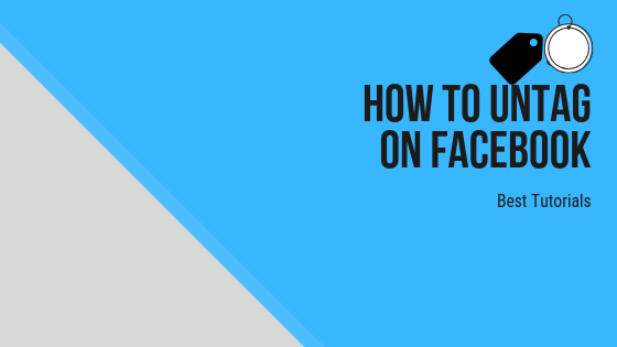 How To Untag Someone On Facebook<br/>