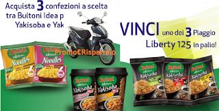Logo Con Buitoni vinci 3 Piaggio Liberty 125