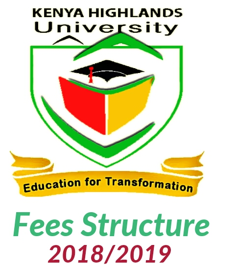 Fees structure for courses Kenya Highlands Evangelical University