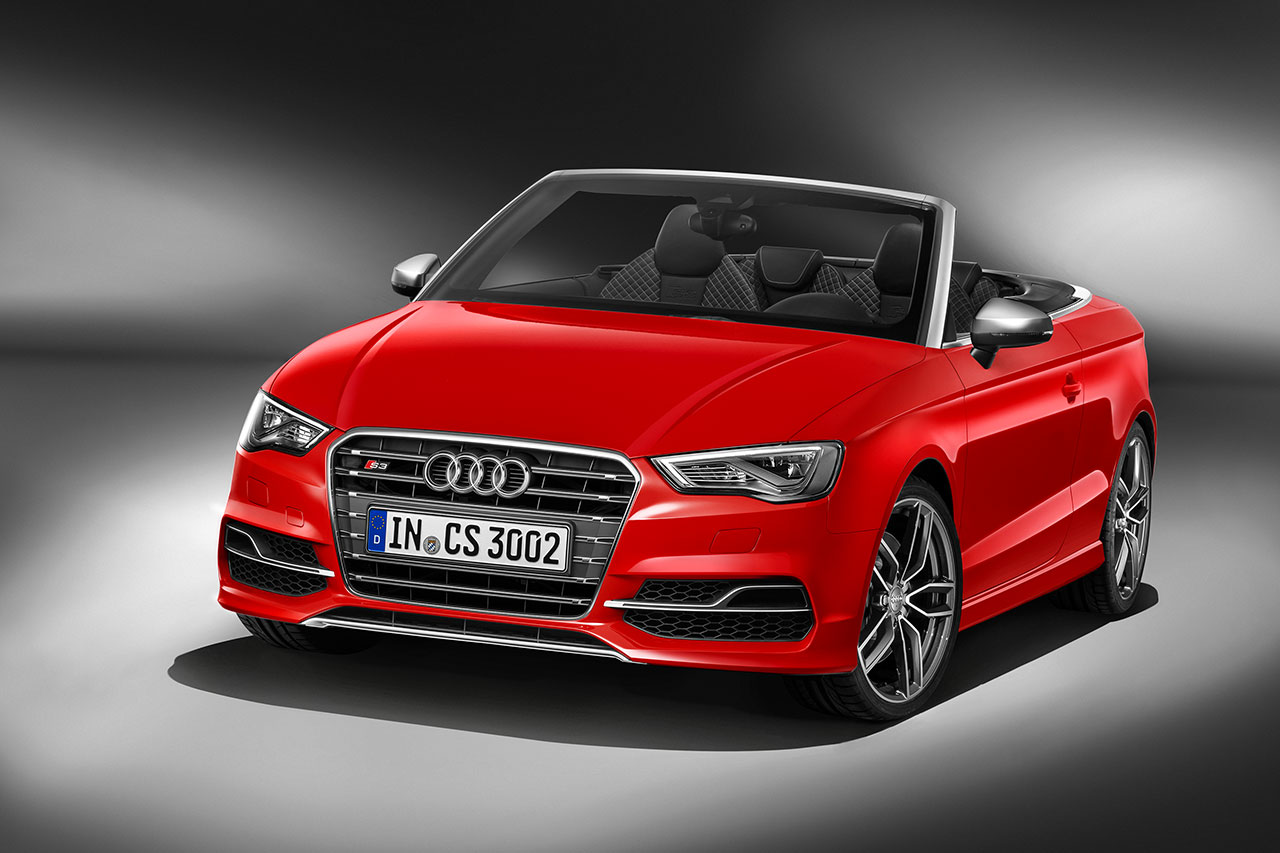 Audi S3 Cabriolet front