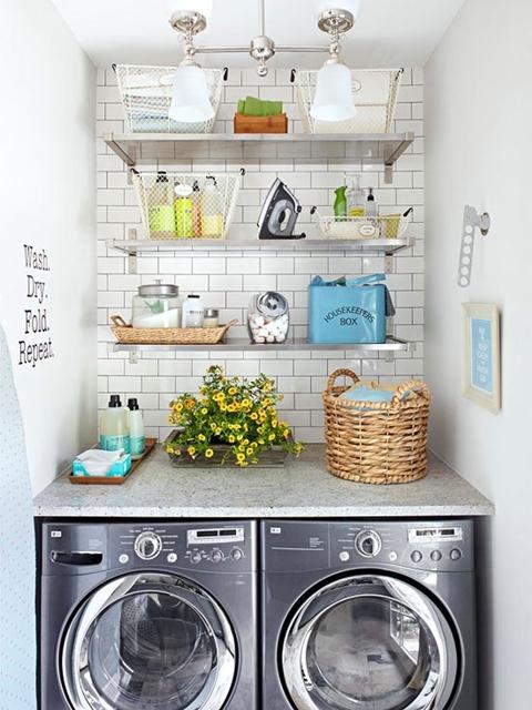 decoração lavanderias