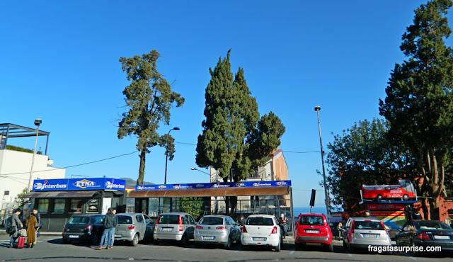 Terminal de ônibus de Taormina, Sicília