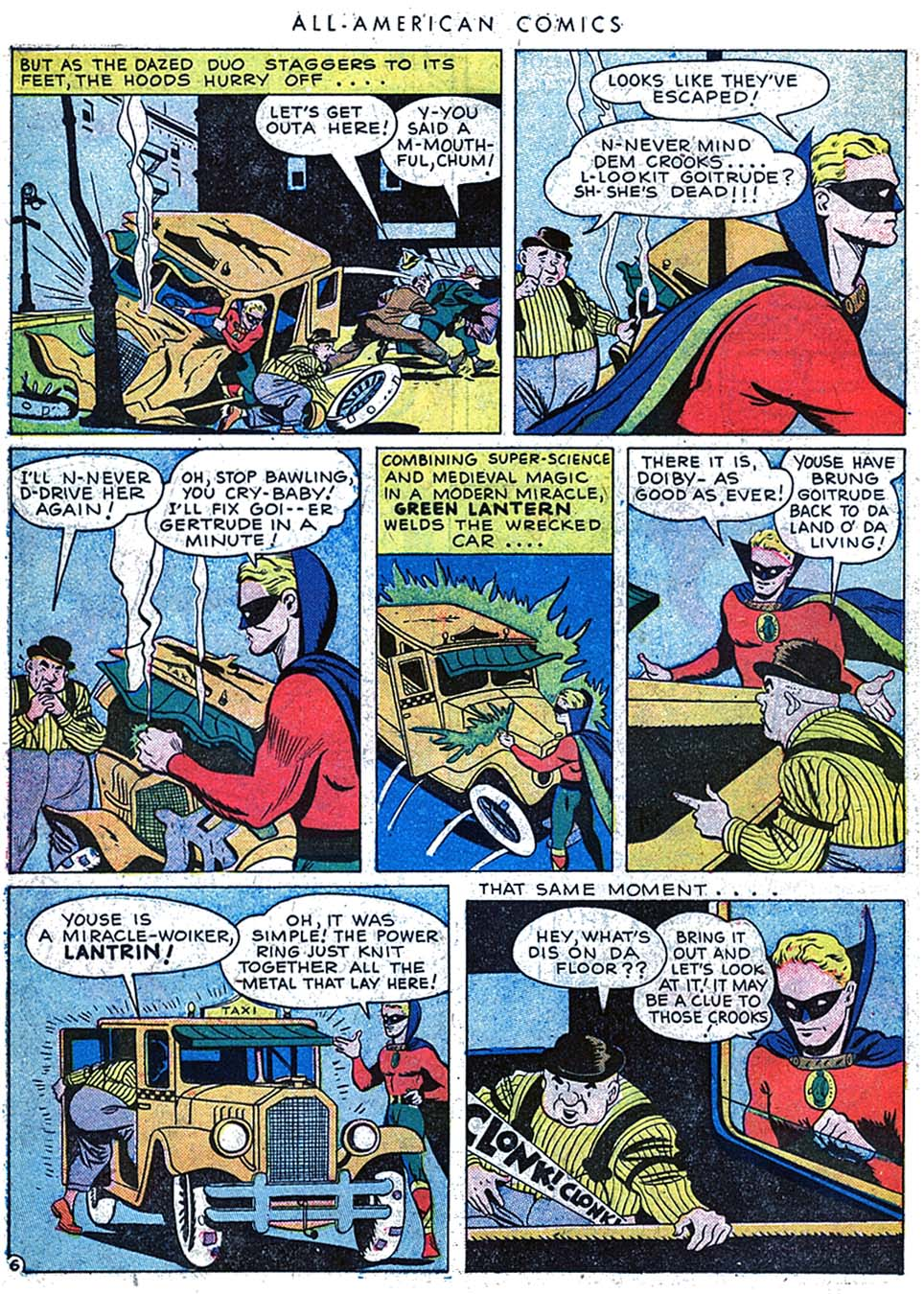 Read online All-American Comics (1939) comic -  Issue #63 - 8