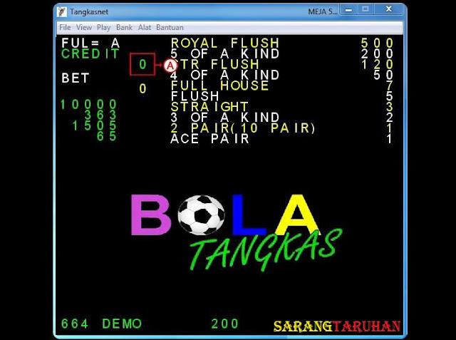 window meja permainan tn Panduan Cara Bermain TangkasNet