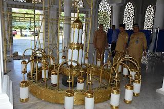 LAMPU KERAJINAN TEMBAGA,LAMPU KERAJINAN KUNINGAN
