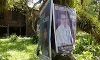 Ribuan Alat Peraga Kampanye Sesaki Pohon di Sinjai