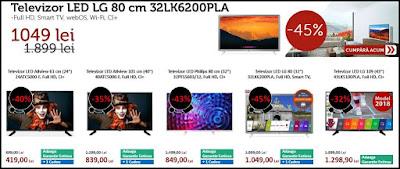catalog black friday 2018 evomag televizoare full hd LG allviews Philips