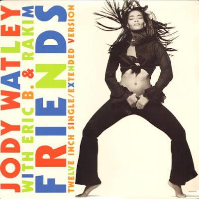 Jody Watley With Eric B. & Rakim – Friends (1989) (VLS) (FLAC + 320 kbps)