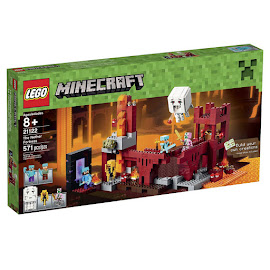 Minecraft The Nether Fortress Lego Set