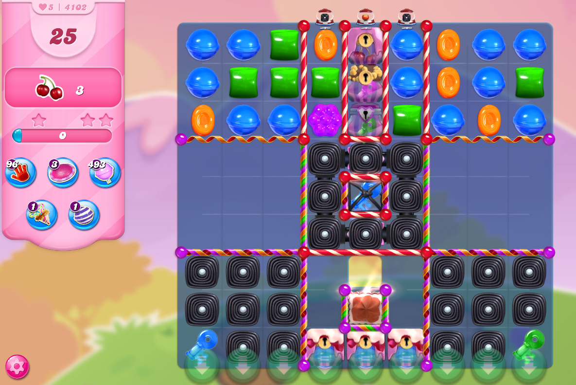 Candy Crush Saga level 4102