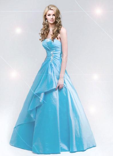 celebrity Gossip Baby Blue Prom Dresses