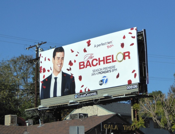 The Bachelor A perfect Ben season 20 billboard