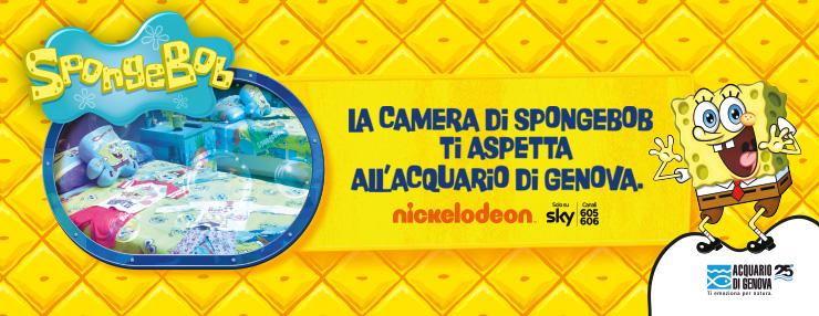 """c5b538f2e7 Ritorna anche a febbraio, dal 1° al 11, il concorso """"Una notte all'Acquario con  Spongebob"""" ideato da Nickelodeon, il brand di Viacom International Media ..."""