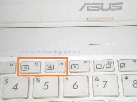 Cara mengatur kecerahan layar laptop asus