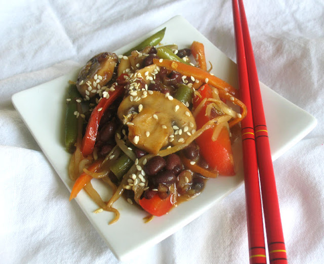 Asian vegetable stir fry