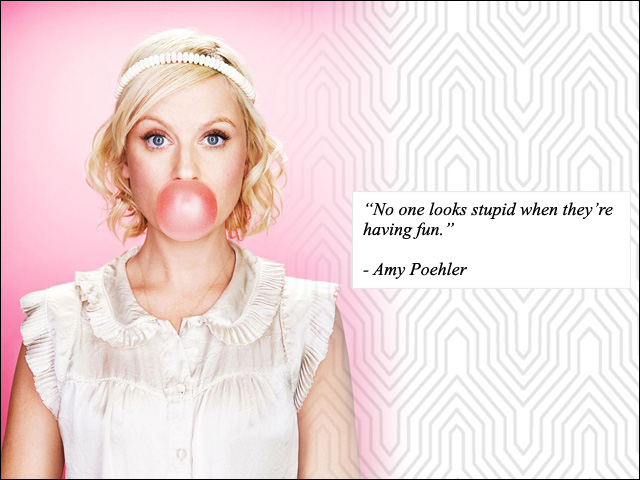 23 Life Tips From Amy Poehler