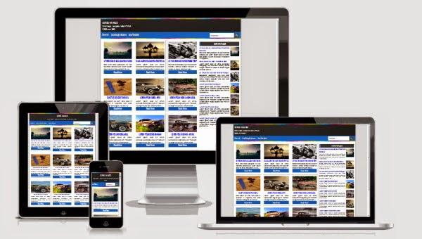 Grid plus responsive blogger template v1.