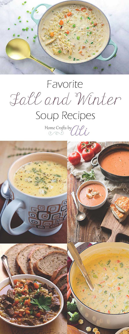 15+ tasty fall and winter soup recipes
