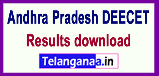 AP Andhra Pradesh DEECET Results 2018 download