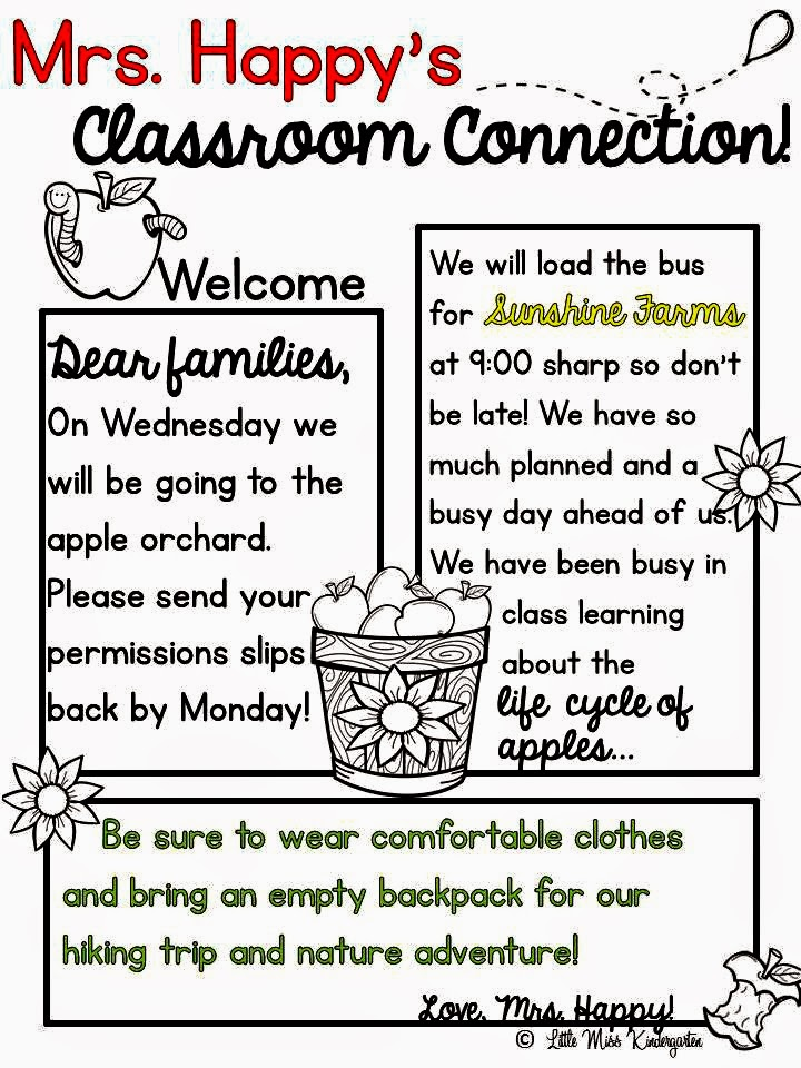 meet the teacher newsletter templates - Josemulinohouse - weekly newsletter template