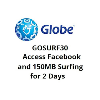 GOSURF30 : Access Facebook Or Other Free Apps + 150MB Surfing For 2 Days