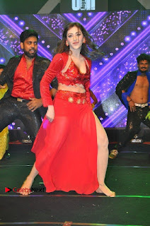 Telugu Actress Angela Krislinzki Spicy Dance Performance in Red Dress at Rogue Audio Launch 13 March 2017  0020.jpg
