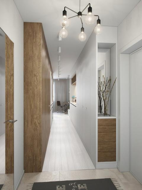 коридор в студийной квартире
