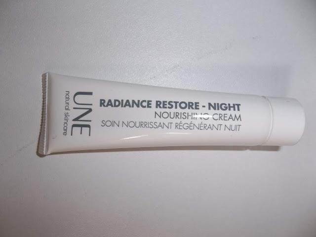 Soin Nourrissant Régénérant Nuit Radiance Restore Night - UNE