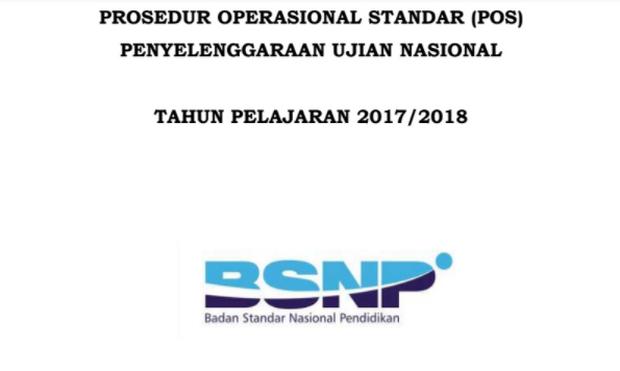 Download POS UN Tahun 2018 PDF