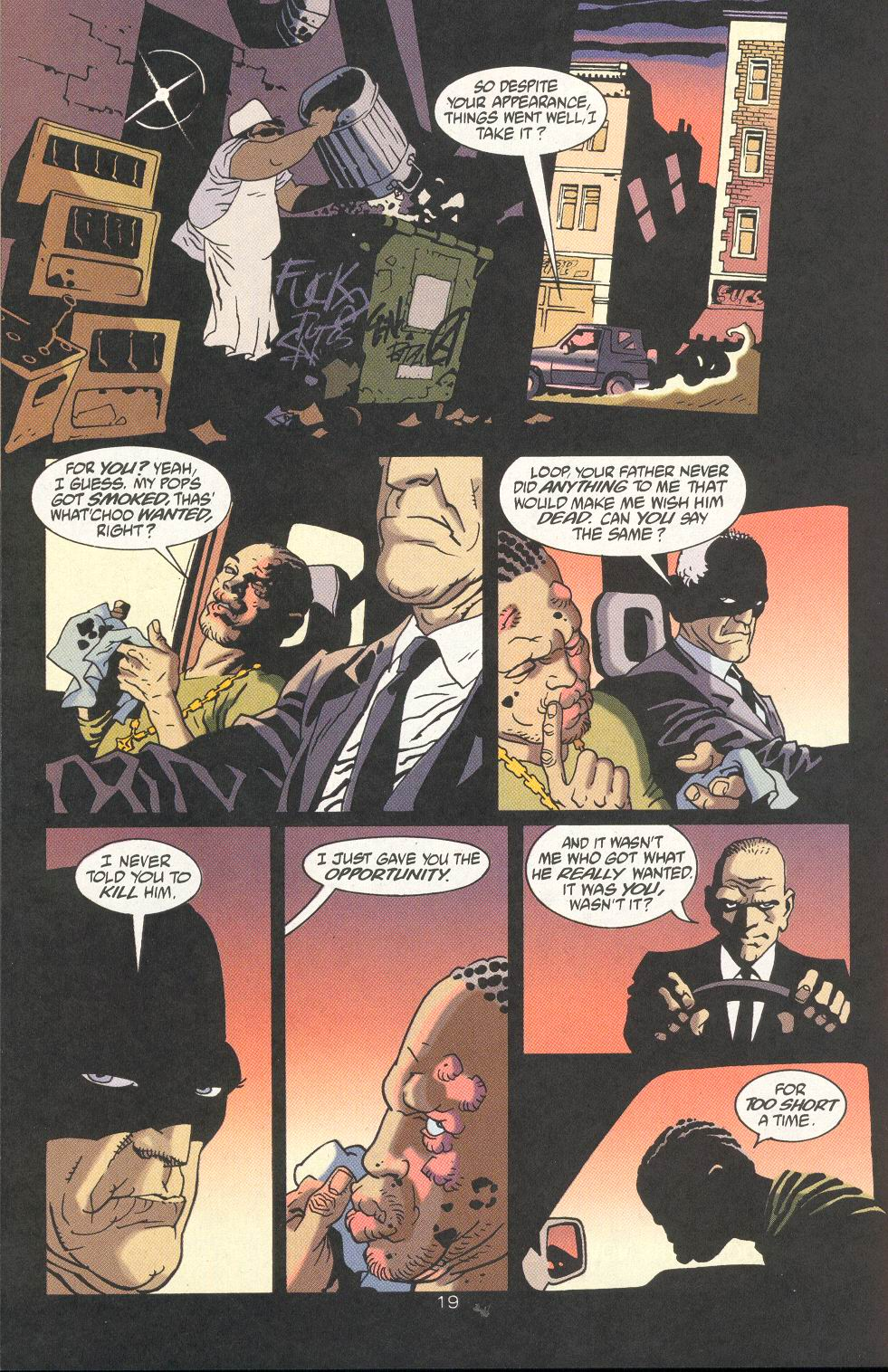 Read online 100 Bullets comic -  Issue #18 - 21