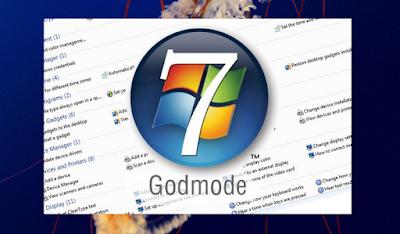 Cara Terbaru Dan Ampuh Mengaktifkan Windows 7 GodMode