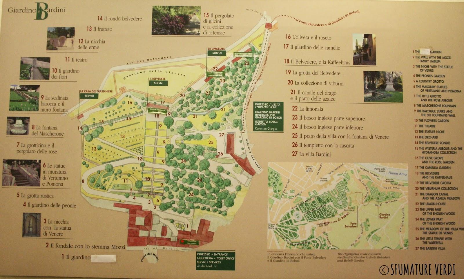 Il giardino di villa bardini un giardino storico nel - Il giardino italiano ...