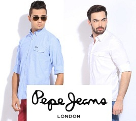 Pepe Casual Shirts – Minimum 55% Off @ Flipkart