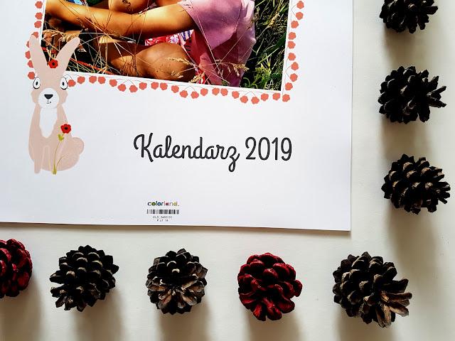 kalendarz 2019 - planner 2019 - kalendarz ścienny - kalendarz wiszący - prezent na Gwiazdkę - prezent na święta - prezent na Mikołajki - prezenty spersonalizowane - colorland.pl