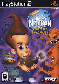 The Adventures of Jimmy Neutron Boy Genius PS2
