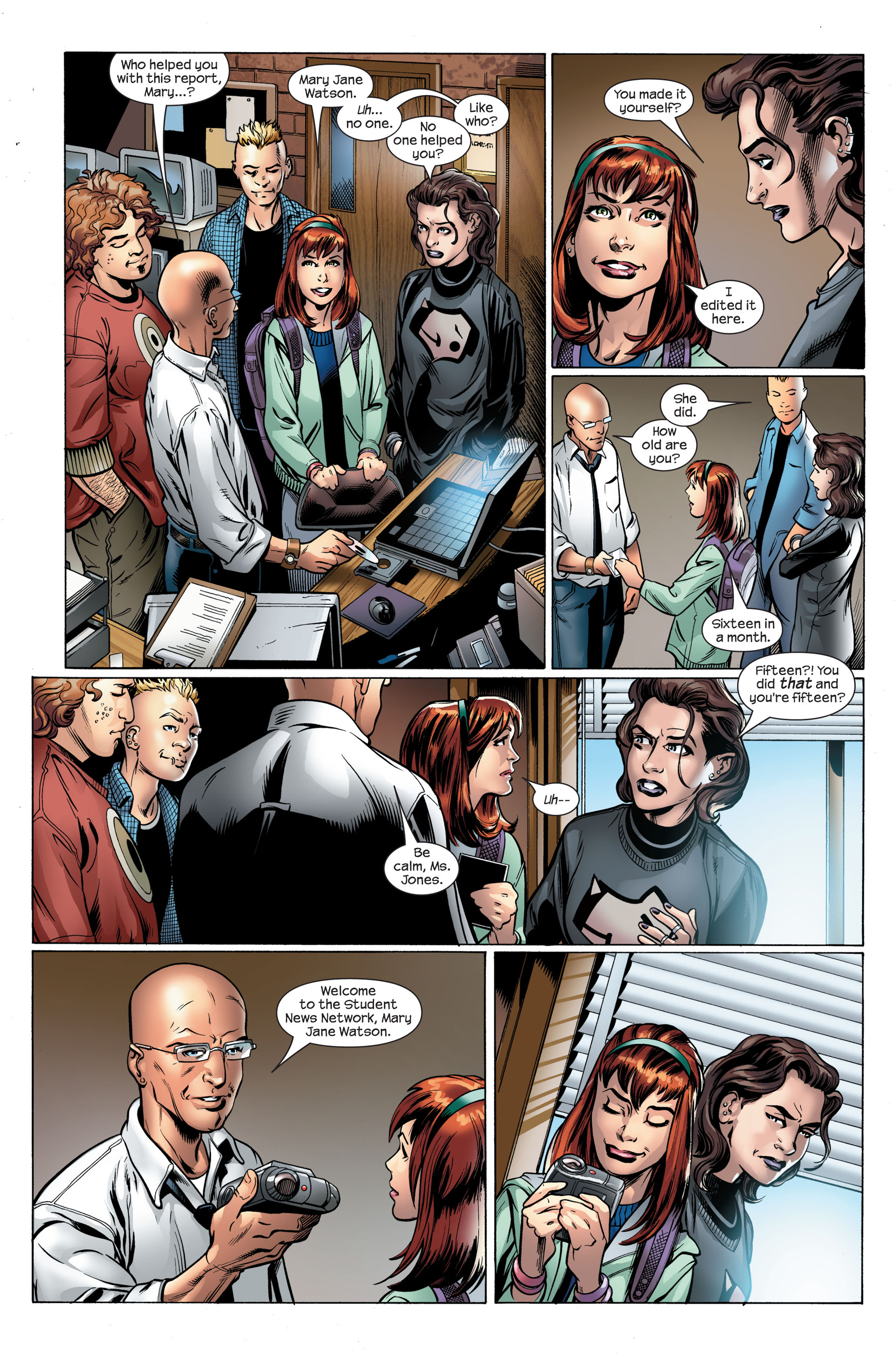 Read online Ultimate Spider-Man (2000) comic -  Issue #108 - 11