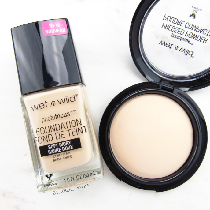 wet n wild photo focus foundation powder | the beauty puff