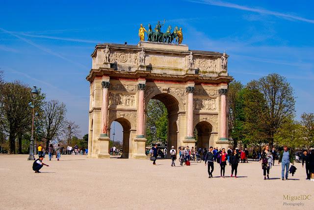 Arco del triunfo del carruset