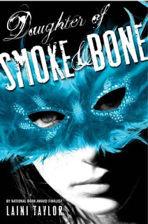 Daughter of Smoke and Bone (Daughter of Smoke and Bone #1) by Laini Taylor. Fabulous, engaging, creative, and well-written fantasy. Click through for full review. Via Diamonds in the Library.