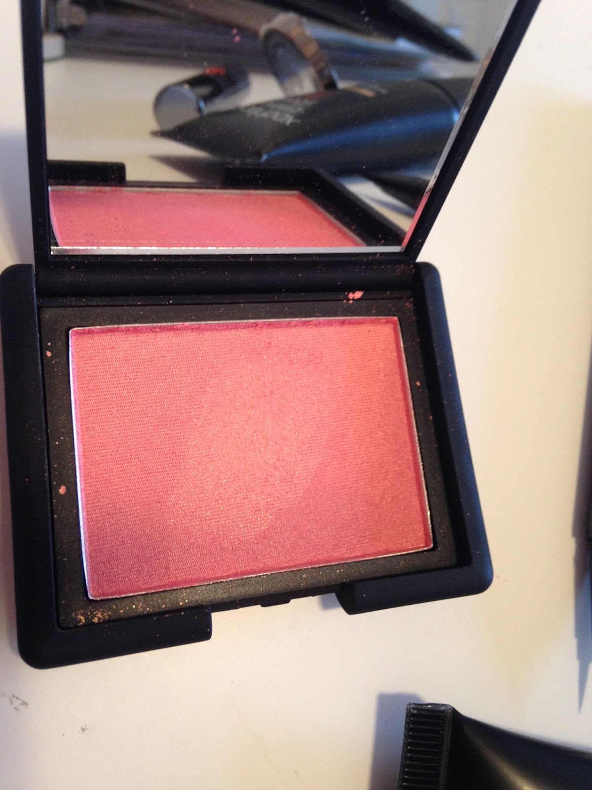 urban decay sin eyeshadow review nars orgasm blush review