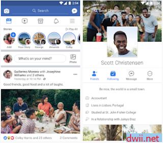 aplikasi facebook mod messenger apk 2018