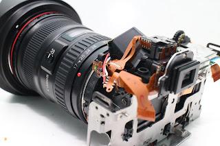 Kerusakan slot Memory Crad pada Kamera