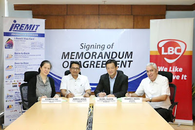 OFWs Find a More Reliable Way of Sending Money Back Home Via LBC-iREMIT Tie-Up
