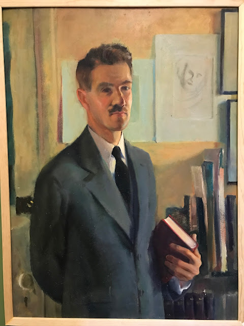 Self Portrait, Great Maine Artists, Francis J. Quirk