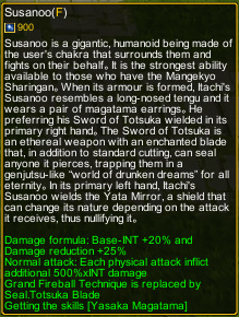 Naruto Castle Defense 7.05 Susano detail