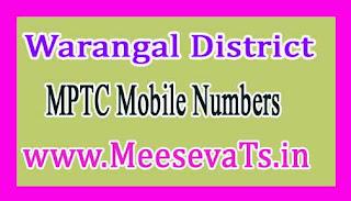 Thorrur Mandal MPTC Mobile Numbers List Warangal District in Telangana State