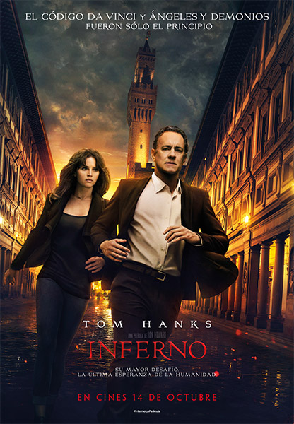 Película Inferno, Dan Brown