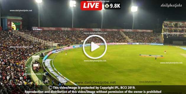 IPL 2019 KXIP Vs RR 32nd T20 Match Live Cricket Score