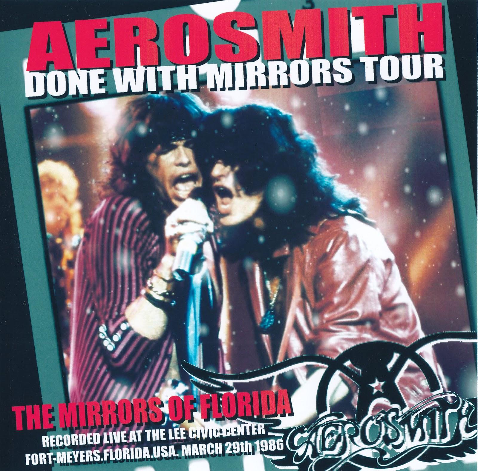 Aerosmith Bootlegs Cover Arts The Mirrors Of Florida